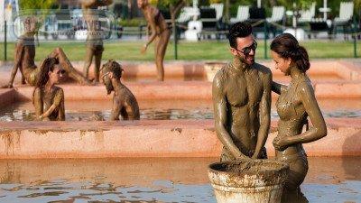 Peloid Turkish Bath From Bogazkent
