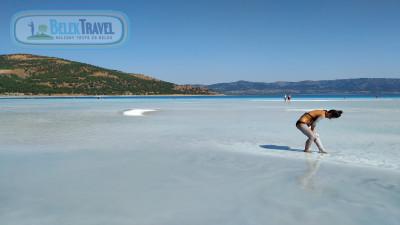 Salda Lake From Belek and Pamukkale Trip