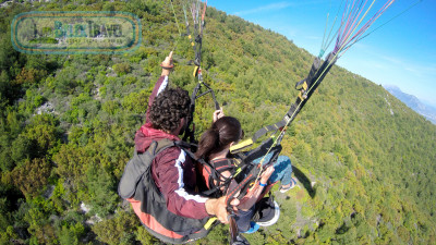 Paragliding From Serik
